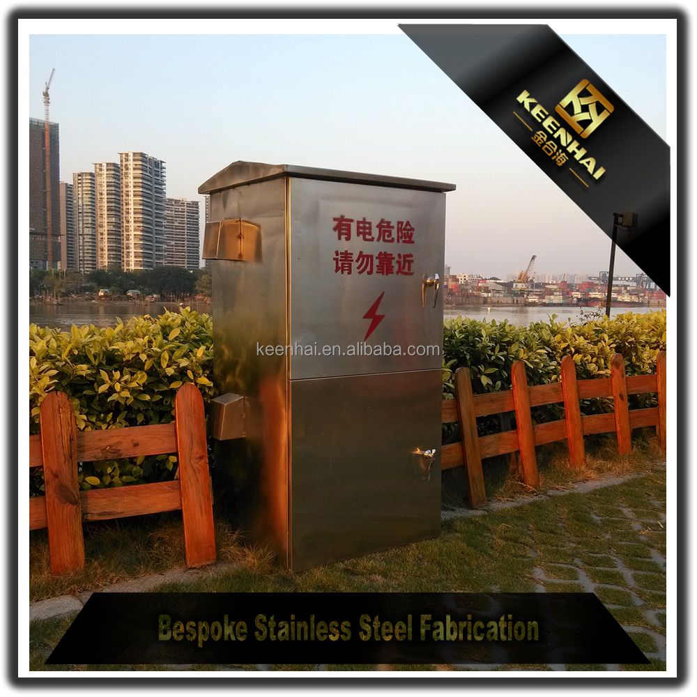 Customized Stainless Steel Electrical Control Box Lock Electrical Panel Box