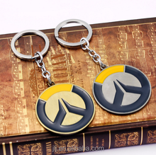 Game Souvenir Custom Metal Oil Zinc Alloy Overwatch Keychain