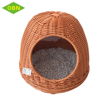 2017 new arrival mini hot sale quality pet basket handmade plastic dog house