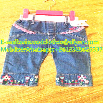 Children short jean pants with Africa Style Good Quality