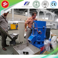 Waste Plastic Fiber/Woven Bags/Film Agglomerator For Plastic Recycling