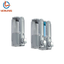 K1 LEXUNG D02/03 Double Box Hotel Wall Mount Liquid Soap Dispenser