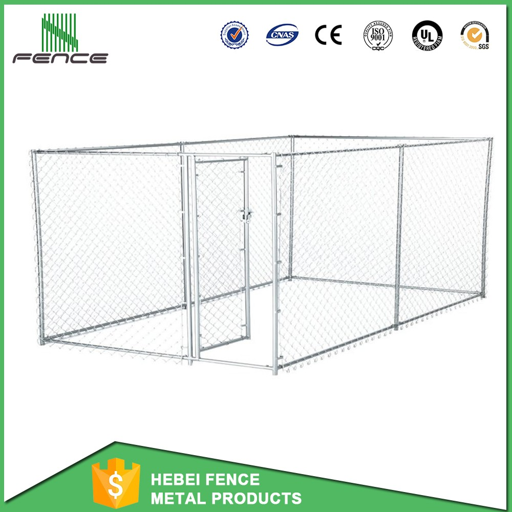heavy-duty wire folding medium dog kennel/ dog house 10x10x6 ft diamond wire fence direct manufacture