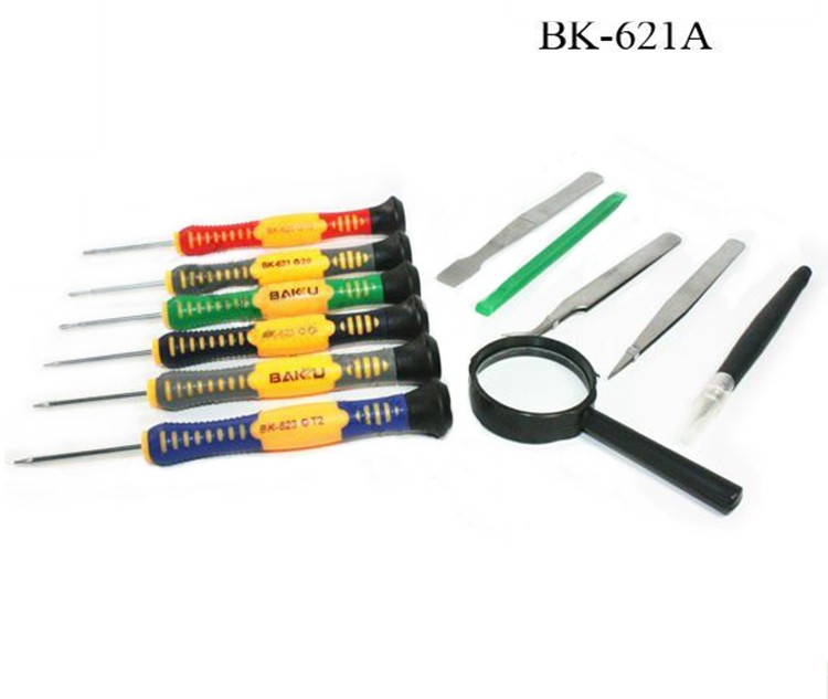 Precise Screwdriver Set BK-621 ( New Tool kit In BAKU ) And BK-621B Can Opening For Iphone 4 5 6 7
