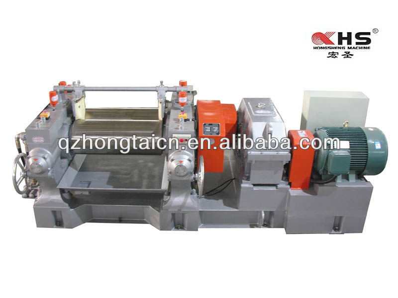 XK-400 Plastic two roll mixing mill