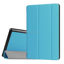 Auto sleep/wake function smart tablet Flip Book cover for Amazon New kindle fire HD 8 leather case