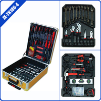 186 pcs aluminum luggage case hand tool set for car ITEM:JX-TK186-4