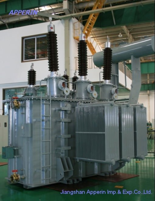 110kV/63000 kVA OLTC Three-Phase Step dowm Power Transformer