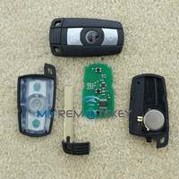 Smart remote key 868Mhz 3button for BMW 3/5 series key with blade