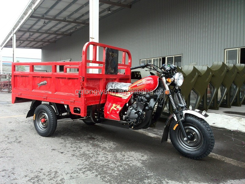 Chinese manufacture 150cc/175cc/200cc/250cc/300cc/350cc cargo three wheel tricycle