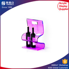 color funky fancy wine rack/bar furniture/wine counter acrylic display