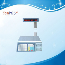 Electronic Scale Barcode Lable Printing Weighing Scale Labeling Printing Scale