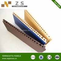 Art and craft terracotta panel clay brick decorative tiles are special for curtain wall stone wall installation
