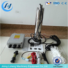 DC brushless submersible solar water pump with MPPT controller