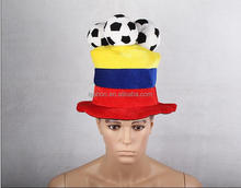 China Wholesale World Cup Football Crazy Fans Hats