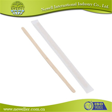 costom length durable sugar stir sticks for coffee for family and any party