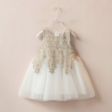 Summer fashion children lace frocks designs kids little girls birthday party wear western dresses with stocks 311119