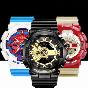 OEM ODM High Quality g waterproof sports mechanical custom shock watch
