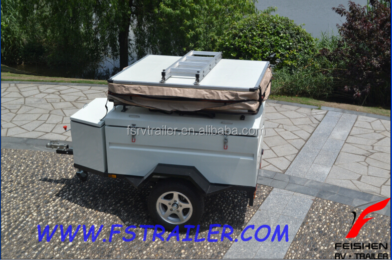 camper trailer with roof top tent FS-X1