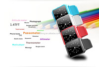 Christmas Silicone Bluetooth Wrist Smart Watch for Android Samsung Galaxy HTC and iPhone 6