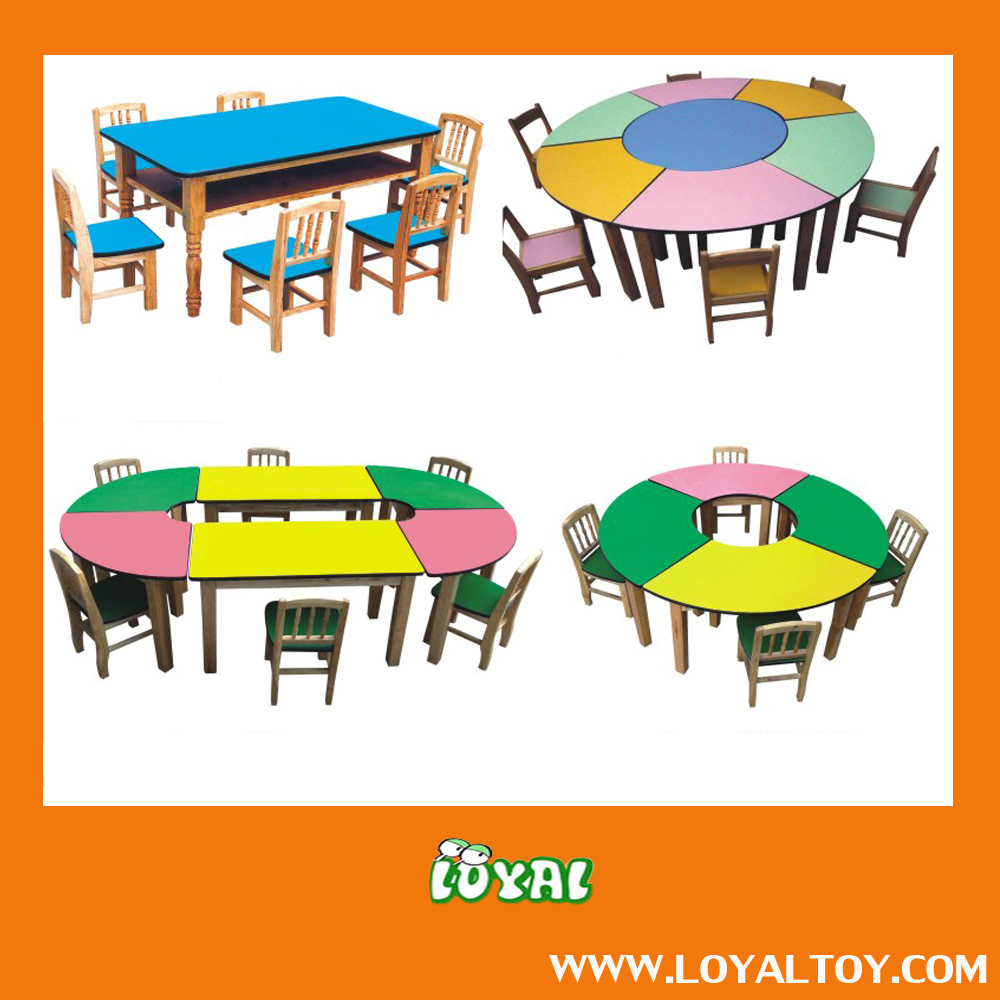 2016 NEW STYLE nursery plastic table,school table,kindergarten table with low cost from China Factory Good Quality