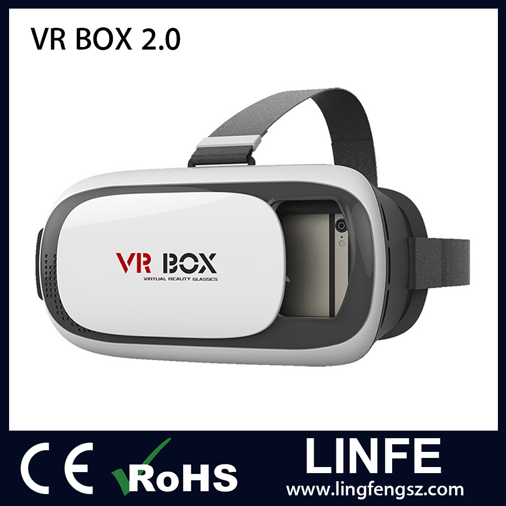 Fashion Style VR Box 2 Generation Virtual Reality 3D VR Box 2.0