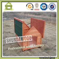 SDD04 Wholesale Wooden Pet House Dog Kennel seller