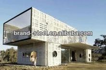 strong strength low cost two storey prefab container houses