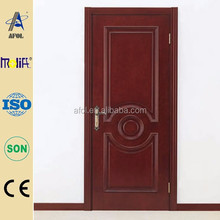 2015 China AFOL Top Level New Promotion Solid Nyatoh Timber Door