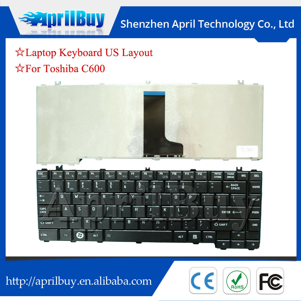Original computer keyboard replacement for Toshiba C650 C660