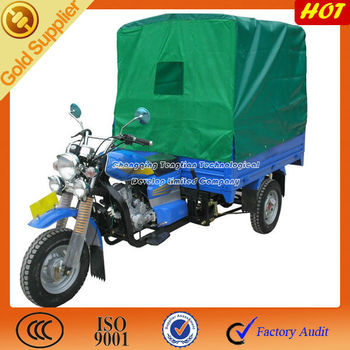 3 wheel tricycle with canvas and poles