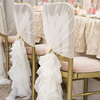 Wholesale Fashionable Ruffle Chair Sash Charivari