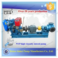 High temperature heat stainless steel asphalt gear pump chemicals