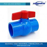 China Factory Direct Supply upvc 1 inch valve