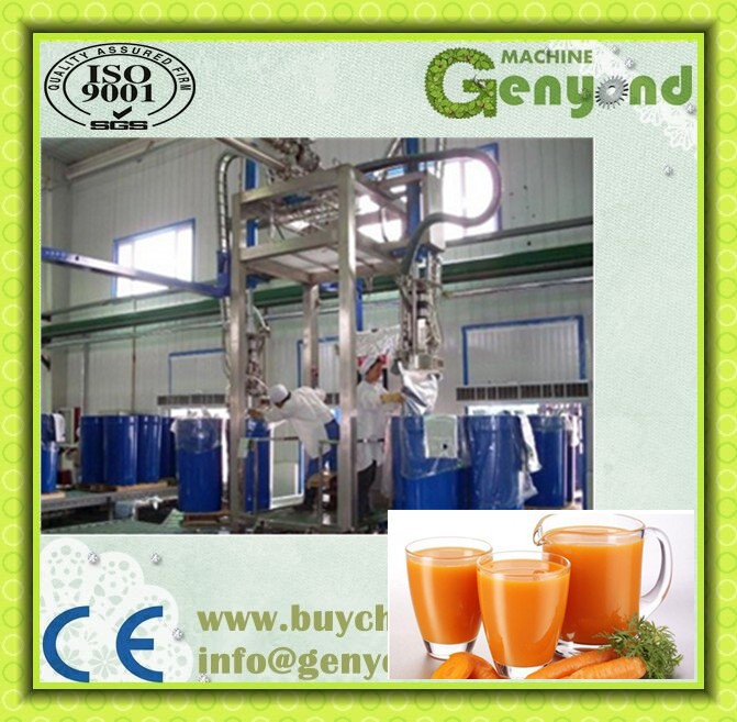 Capacity 1T-20T per hour Vegetable and fruit /carrot syrup/pulp/paste/thick liquid production line