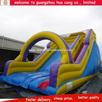 Cheap inflatable jumping slide for kids