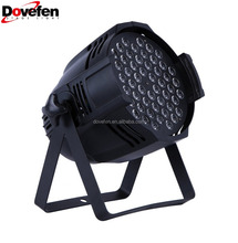 Dovefen 54X3W Stage Light LED DJ PAR Light RGBW 162Watt DMX 512 Stage Lighting Disco Projector