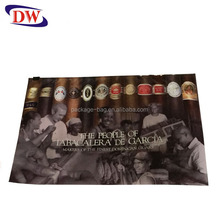 printed slide zip lock plastic bag for cigarette packaging