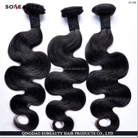 Hair Braiding Virgin Hair Weft Best Selling Top Quality pelo 100 por ciento humano india