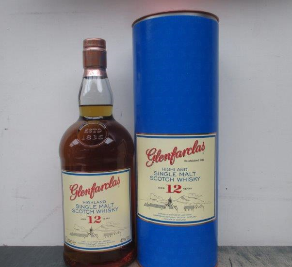 Glenfarclas Aged 12 Years Highland Single Malt Scotch Whisky