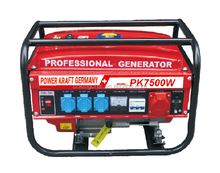 KINGCHAI Power Machienry GS CE 3Phase 380V Swiss Kraft SK 8500W Professional Gasoline Generators