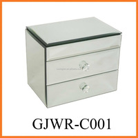 Wholesale Mirror Crystal Jewelry Box