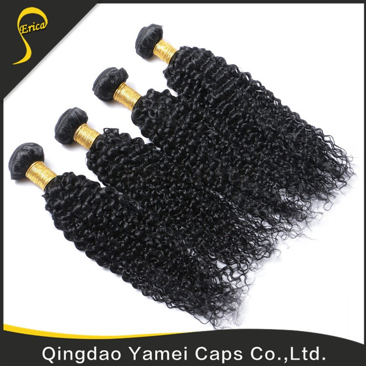 High Quality Virgin Cheap Kinky Baby Curl Hair Weave