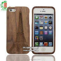 Eco-friendly Safe Solid Wood Cell Phone Case For Iphone 6.
