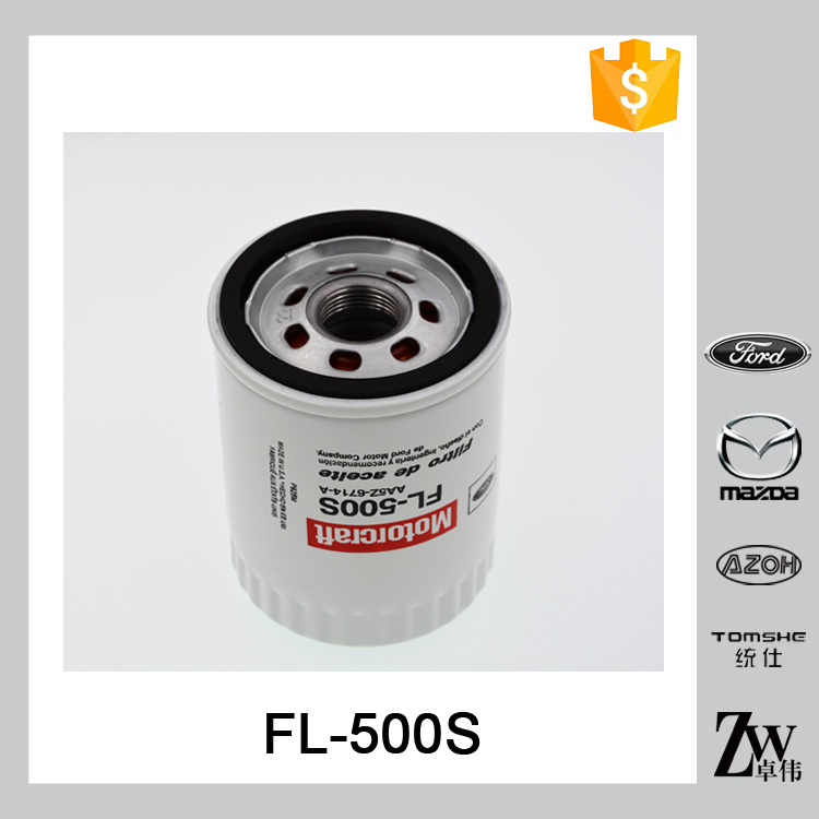 New arrival car engine lubrication system oil filter FL-500S AA5Z-6714-A MOTORCRAFT for FOR-D DODGE