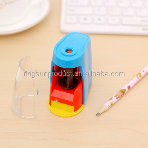 Ringsun Novelty electric pencil sharpener factory with 4AA Batteries