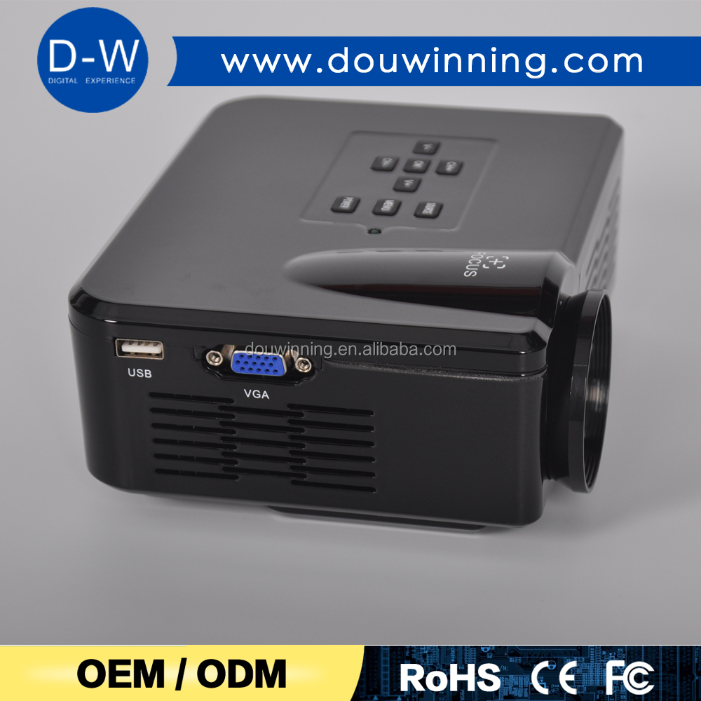 2017 promotion competitive price mini led projectors from china