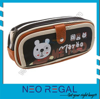 cute pencil case/Funny Pencil Case/button pencil case