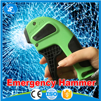 New arrival car breaking glass hammer resqme life hammer