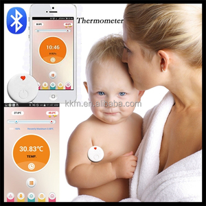 iCare Easy thermometer--smart digital thermometer continuous monitoring, thermometer alarm for high or low temperature with app